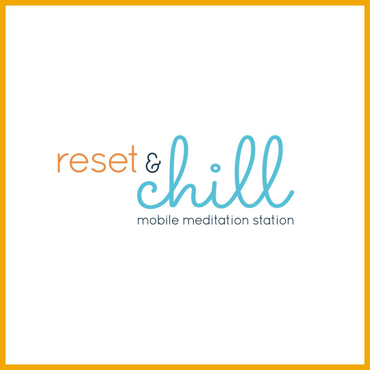 Creative Marketing - Reset and chill logo