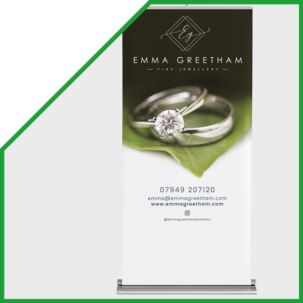 Emma Greetham - leaflet design