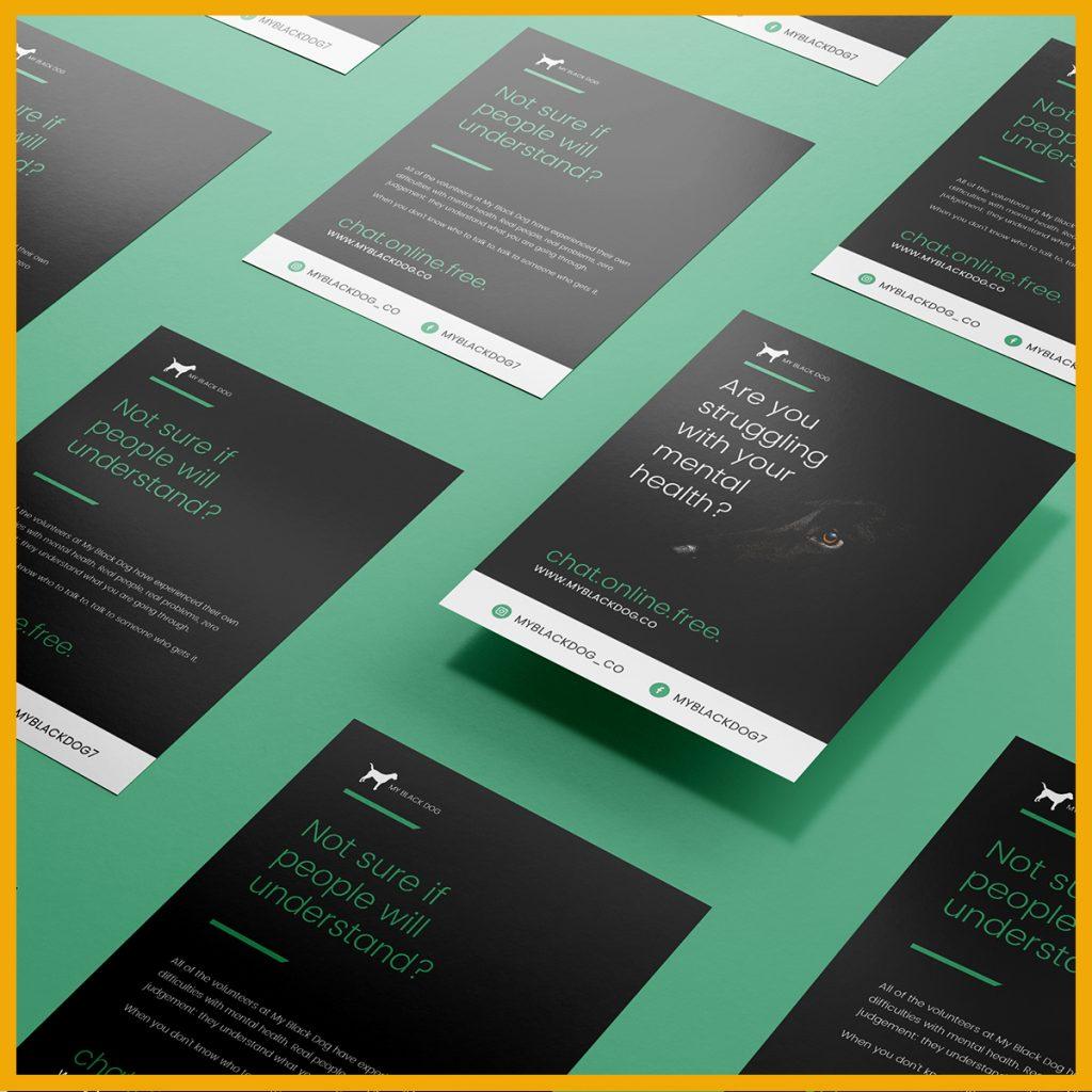 Digital marketing strategy - My Black Dog marketing sample