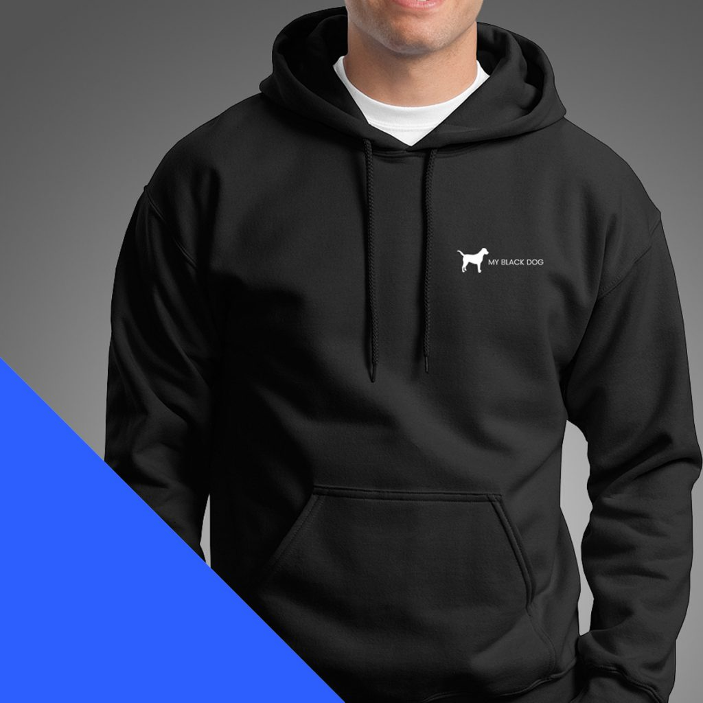 Design and printing services - MBD hoody print
