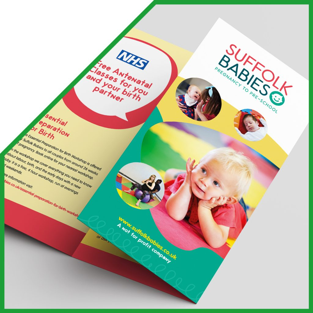 Suffolk Babies - creative design